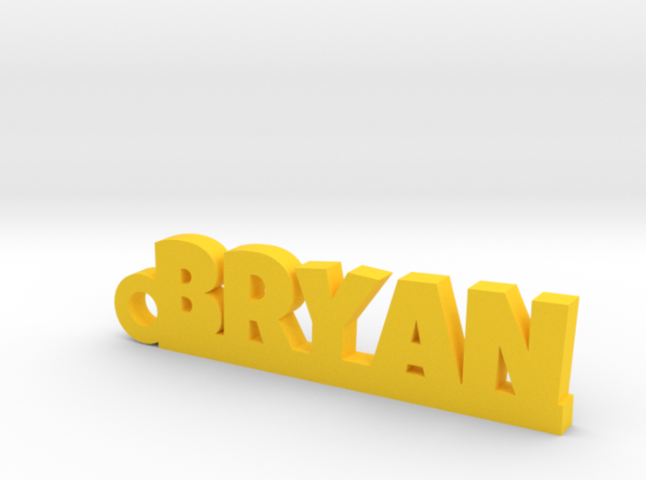 BRYAN Keychain Lucky 3d printed