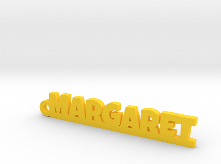 MARGARET Keychain Lucky 3d printed