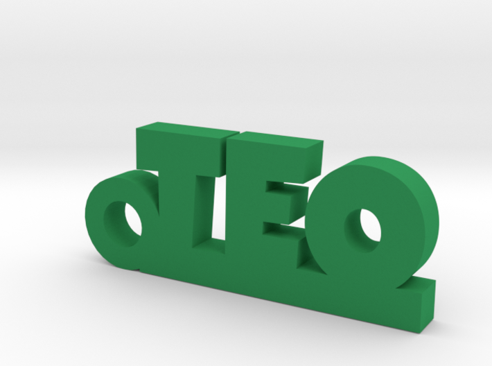 TEO Keychain Lucky 3d printed
