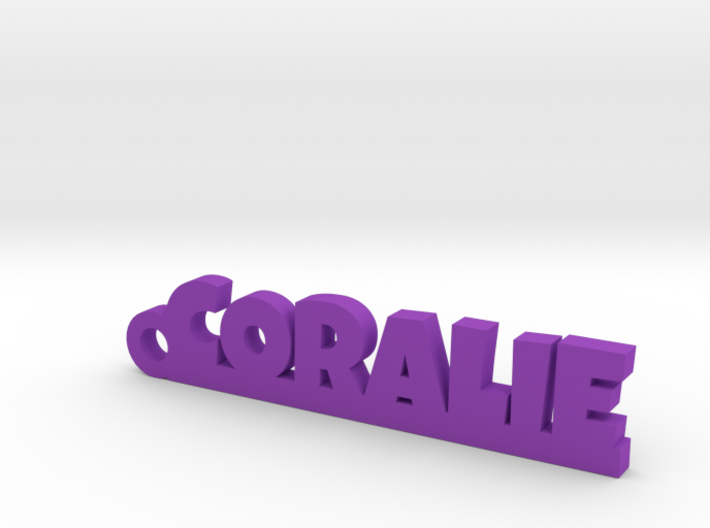 CORALIE Keychain Lucky 3d printed