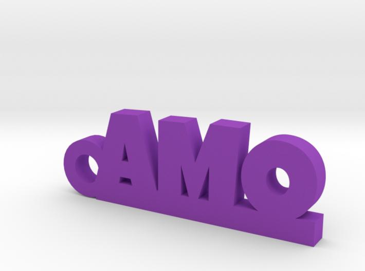 AMO Keychain Lucky 3d printed