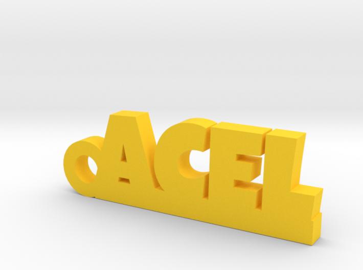 ACEL Keychain Lucky 3d printed