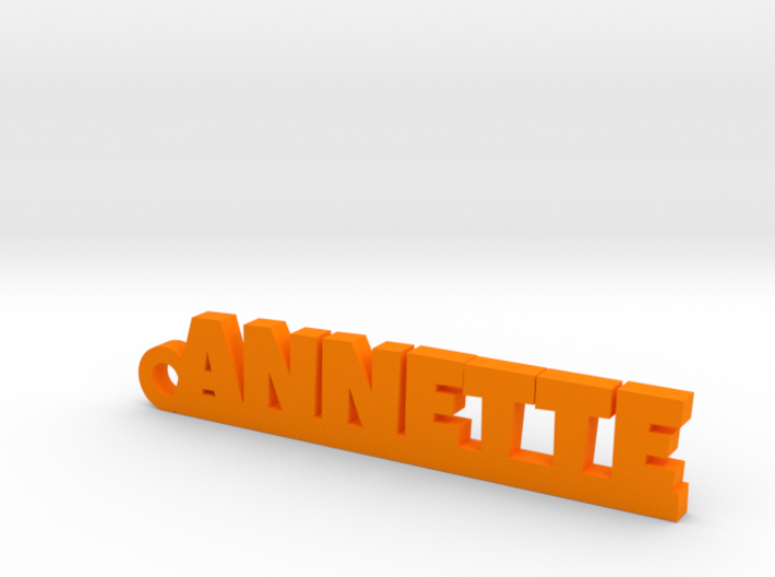 ANNETTE Keychain Lucky 3d printed