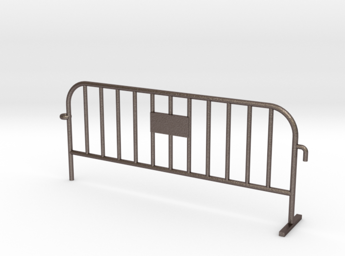 1:50 STEEL Small construction fence one feet / Bau 3d printed