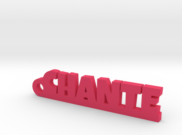 CHANTE Keychain Lucky 3d printed