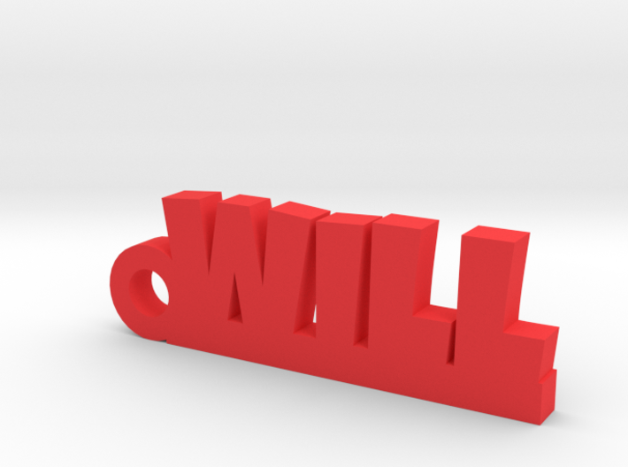 WILL Keychain Lucky 3d printed