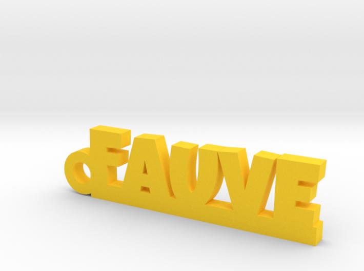 FAUVE Keychain Lucky 3d printed