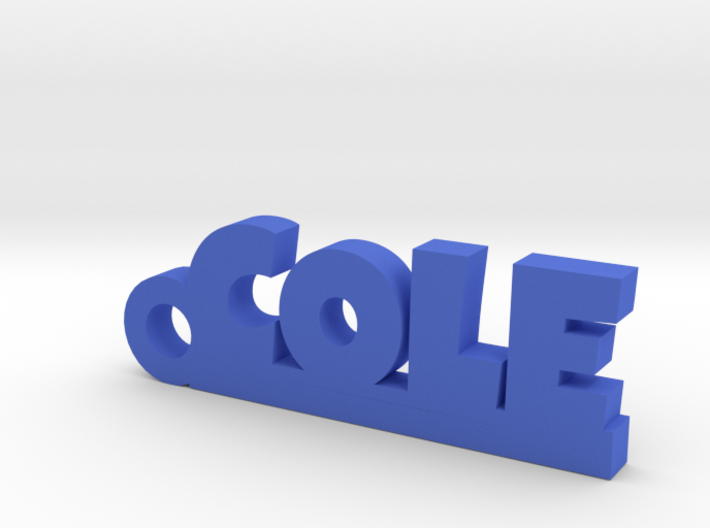 COLE Keychain Lucky 3d printed