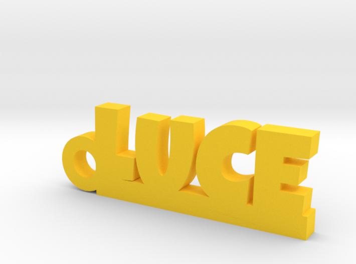 LUCE Keychain Lucky 3d printed