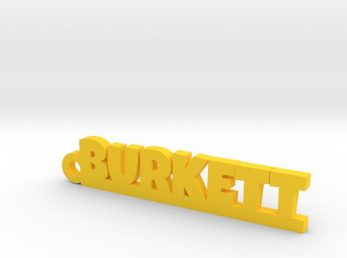 BURKETT Keychain Lucky 3d printed