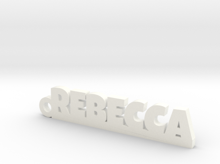 REBECCA Keychain Lucky 3d printed