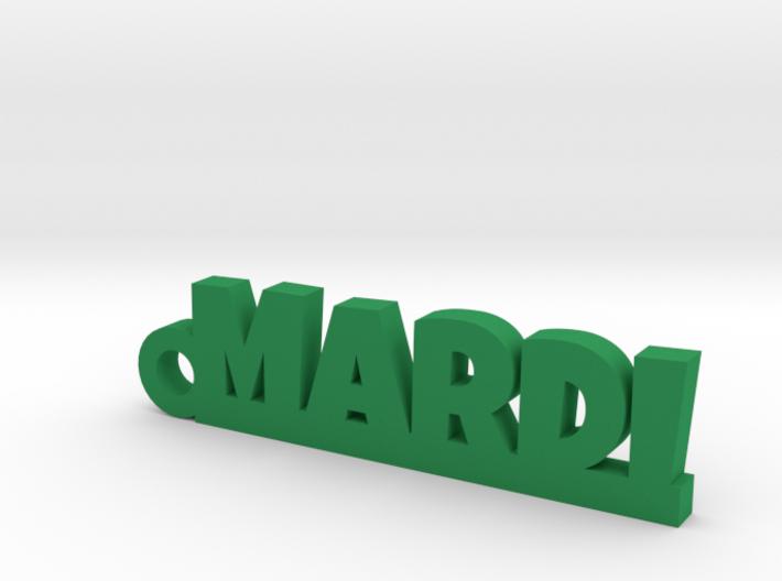 MARDI Keychain Lucky 3d printed