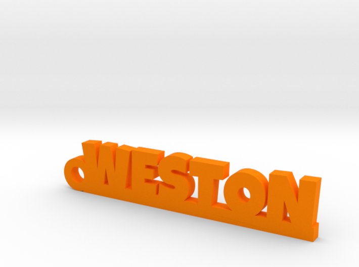 WESTON Keychain Lucky 3d printed