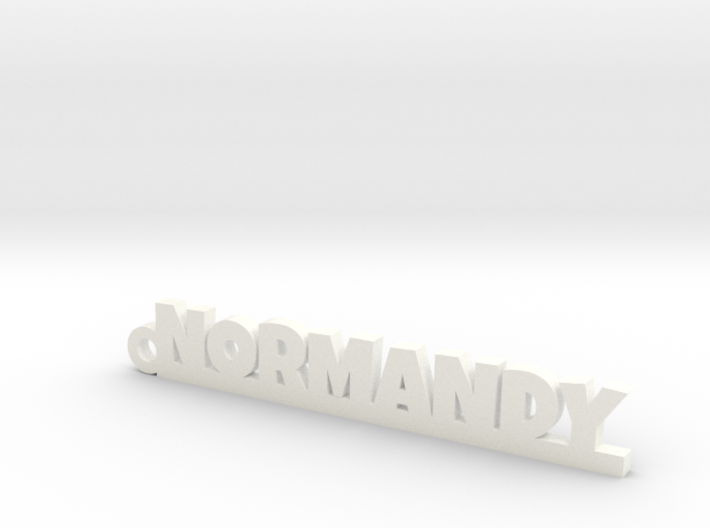 NORMANDY Keychain Lucky 3d printed