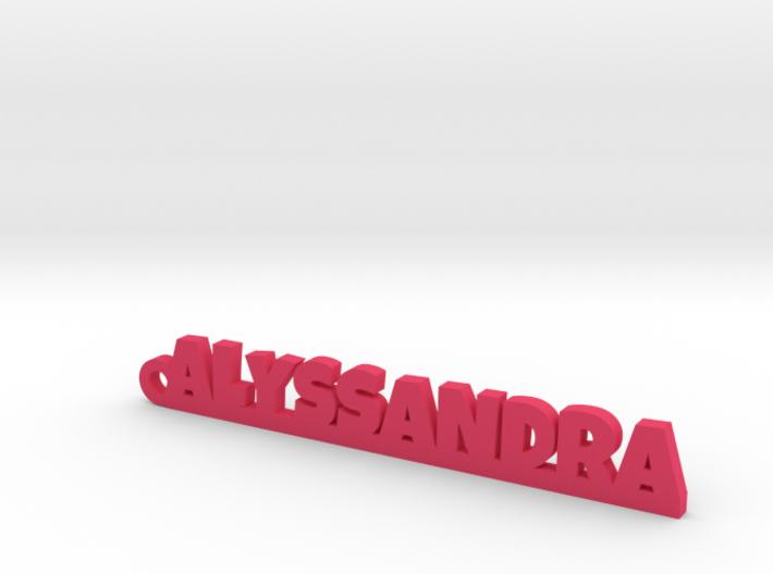 ALYSSANDRA Keychain Lucky 3d printed
