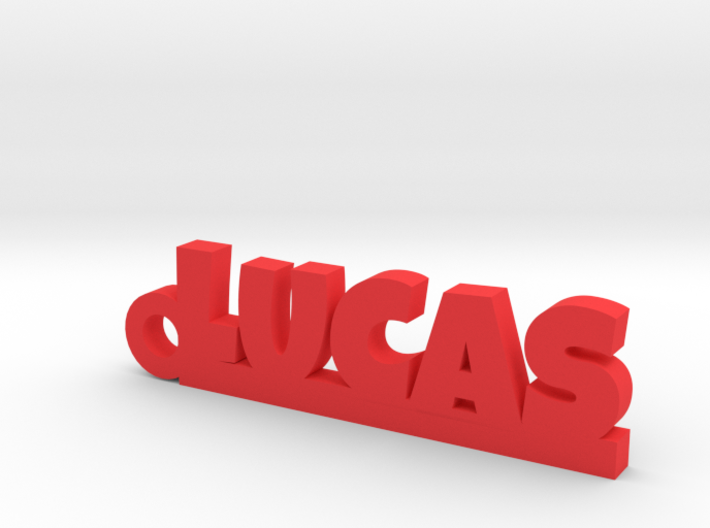 LUCAS Keychain Lucky 3d printed