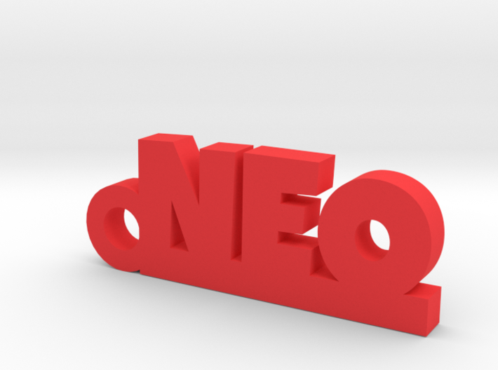 NEO Keychain Lucky 3d printed