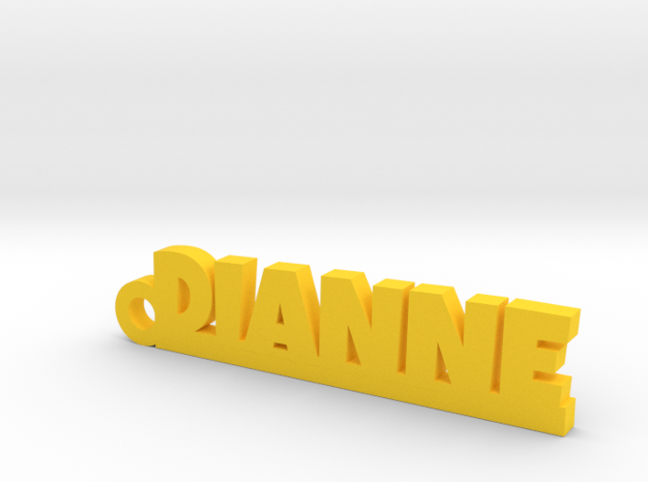 DIANNE Keychain Lucky 3d printed