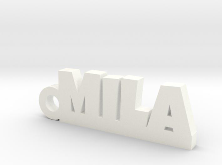 MILA Keychain Lucky 3d printed