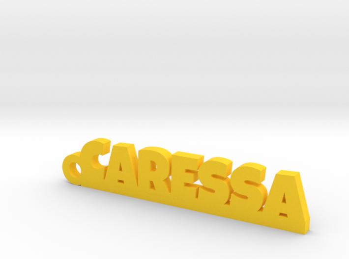 CARESSA Keychain Lucky 3d printed