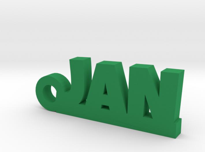JAN Keychain Lucky 3d printed