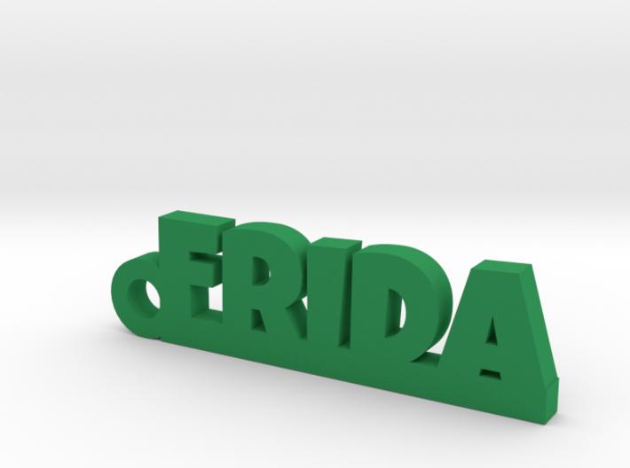 FRIDA Keychain Lucky 3d printed