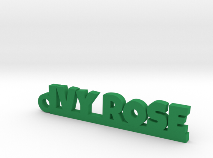 IVY ROSE Keychain Lucky 3d printed
