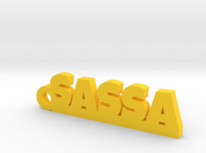 SASSA Keychain Lucky 3d printed
