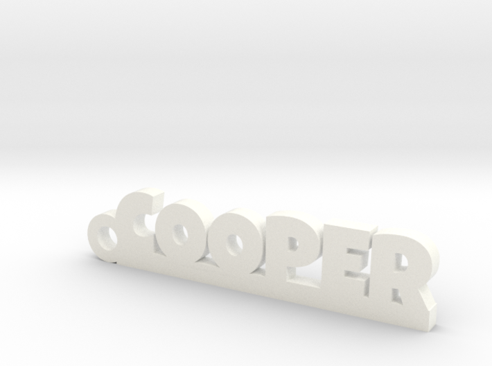 COOPER Keychain Lucky 3d printed