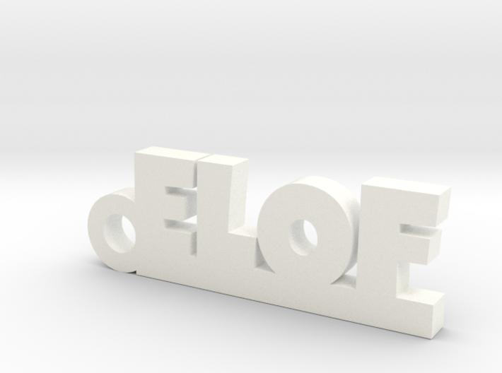 ELOF Keychain Lucky 3d printed