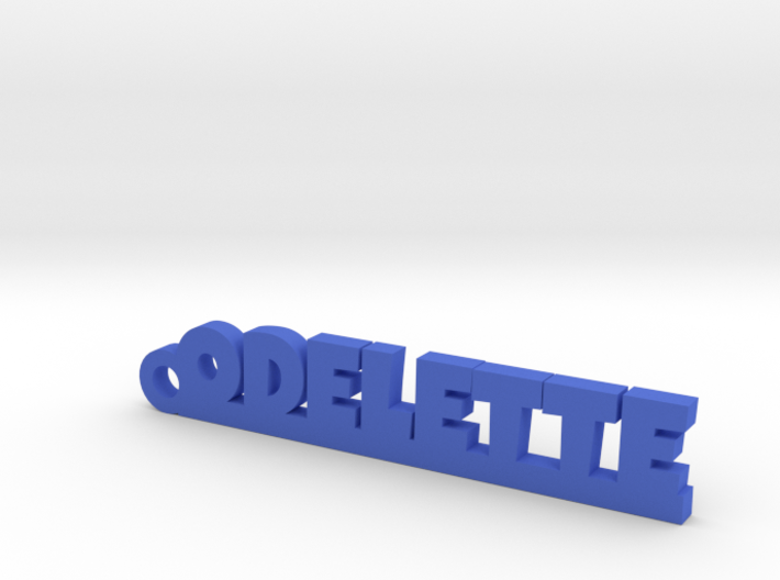 ODELETTE Keychain Lucky 3d printed