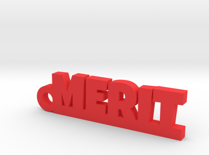 MERIT Keychain Lucky 3d printed