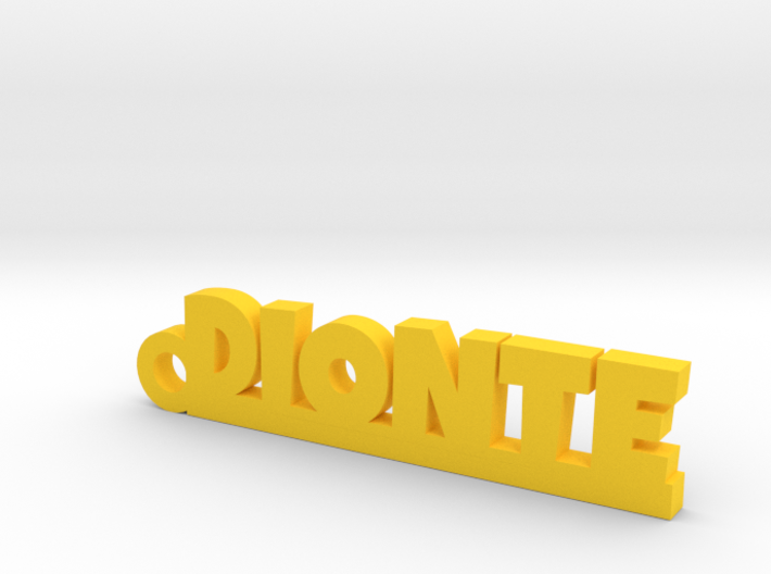 DIONTE Keychain Lucky 3d printed