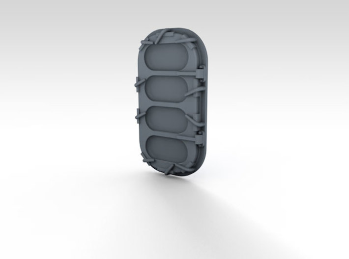 1/144 WW2 Royal Navy Water Tight Doors x24 3d printed 3d render showing product detail