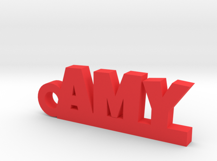 AMY Keychain Lucky 3d printed