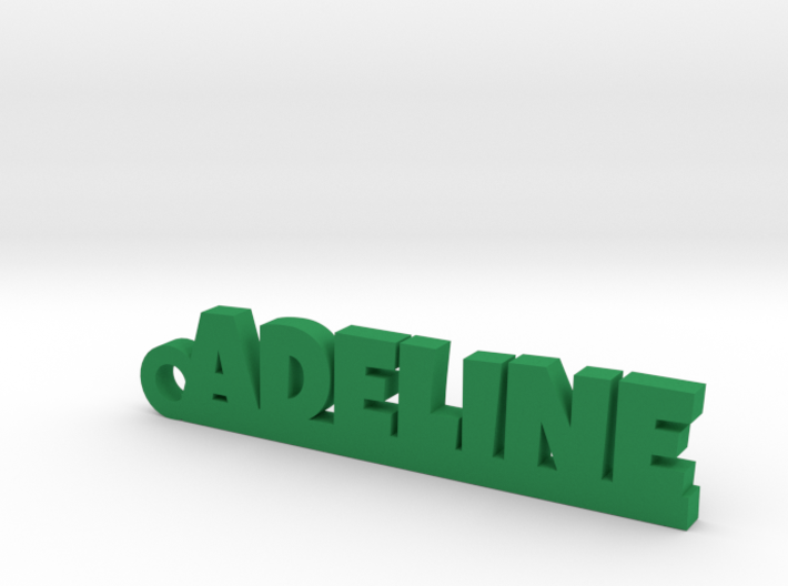 ADELINE Keychain Lucky 3d printed