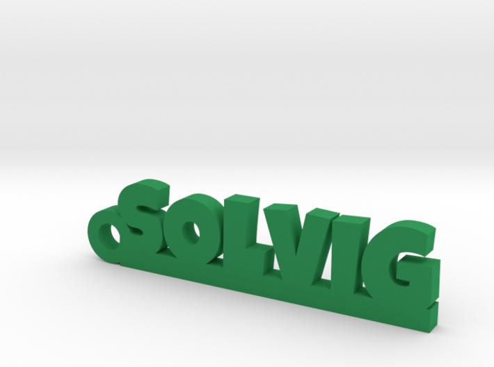 SOLVIG Keychain Lucky 3d printed