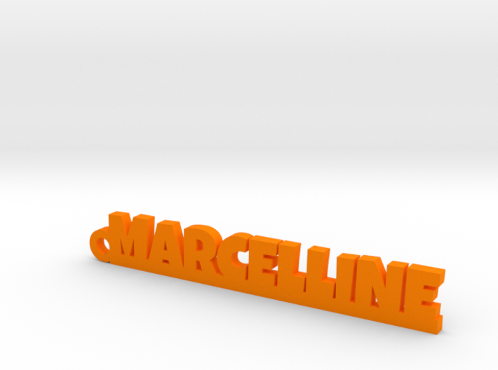 MARCELLINE Keychain Lucky 3d printed