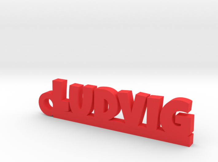 LUDVIG Keychain Lucky 3d printed