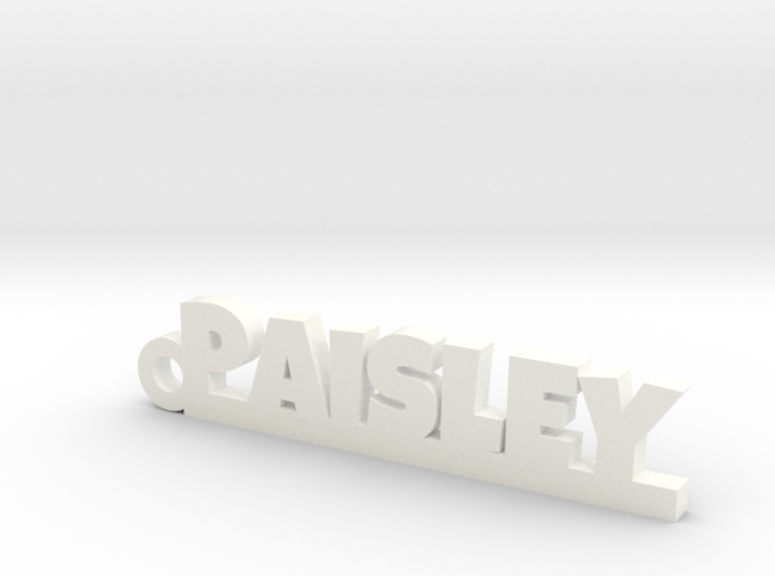 PAISLEY Keychain Lucky 3d printed