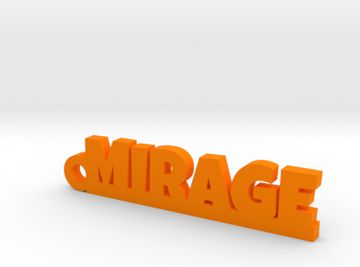 MIRAGE Keychain Lucky 3d printed
