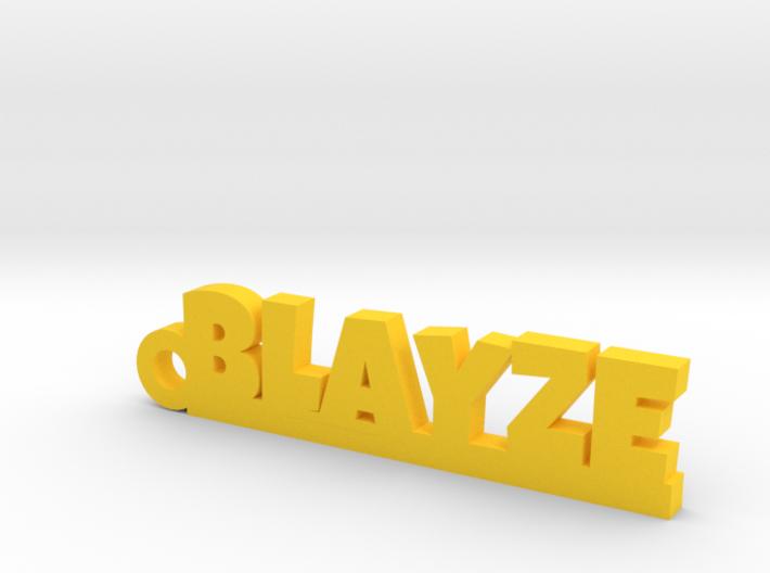 BLAYZE Keychain Lucky 3d printed