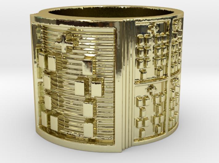 OTURAPOMPEYO Ring Size 11-13 3d printed