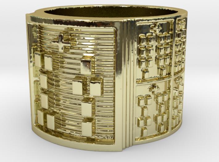 OTURAPOMPEYO Ring Size 14 3d printed