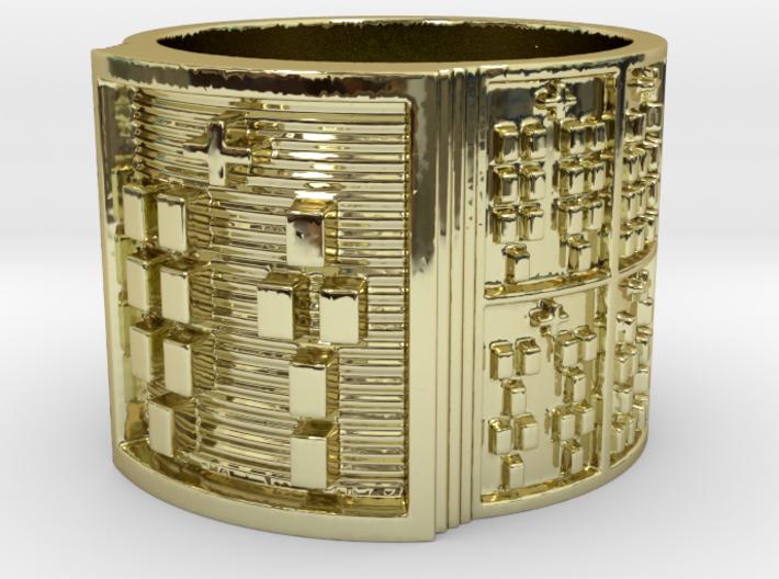 OTURATIKU Ring Size 14 3d printed