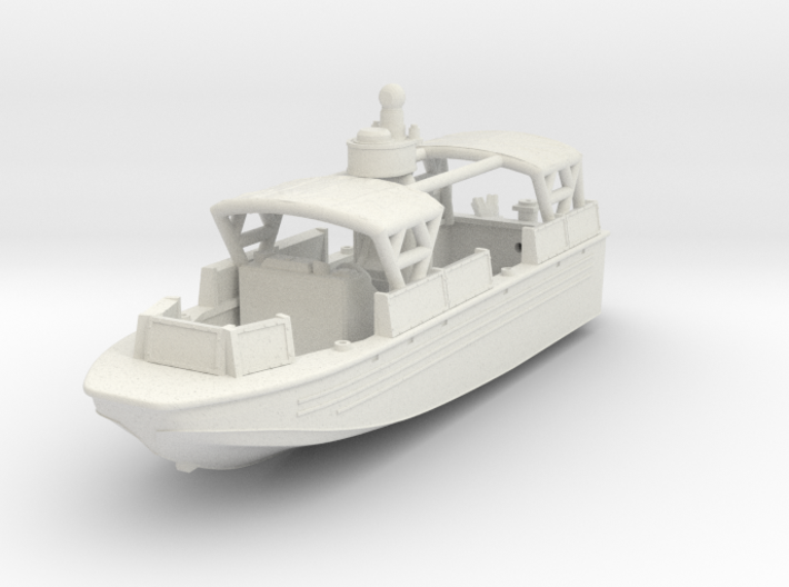 1/144 USN Riverine Assault Boat (With Canopy) - C 3d printed