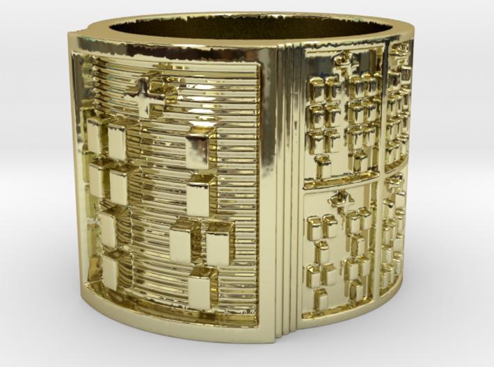 IRETEJUANI Ring Size 11-13 3d printed