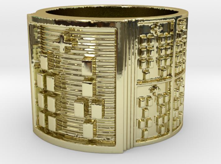 IRETEBARA Ring Size 13.5 3d printed