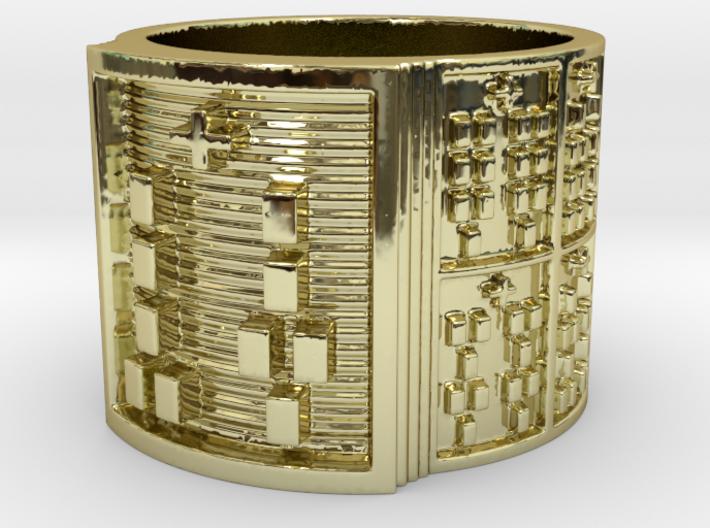 IRETEKUTAN Ring Size 13.5 3d printed