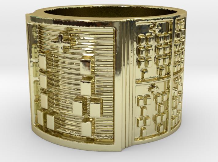 IRETEKUTAN Ring Size 14 3d printed